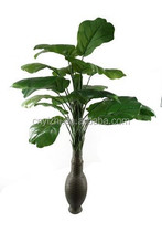 Yzp000058 wholesale green artificial Ficus Lyrata tree potted plants artificial Banana tree bonsai synthetic Loquat tree