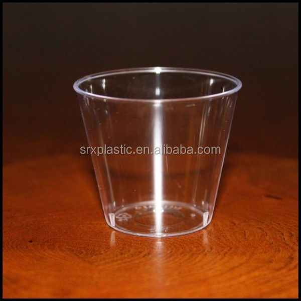 1.5 oz Small Plastic JELLY CUPS clear nice party dessert disposable cups,custom disposable jelly dessert cups wholesale
