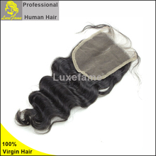 Top quality indian virgin hair ombre hair extension lace closure,top lace closure,cheap lace closure