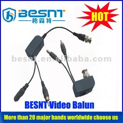 Hot sale! HD twisted pair video converter for cctv camera video balunBS-VB270