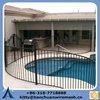 2015 new wrought iron fence hot sale safety swimming pool fence, swimming pool fence