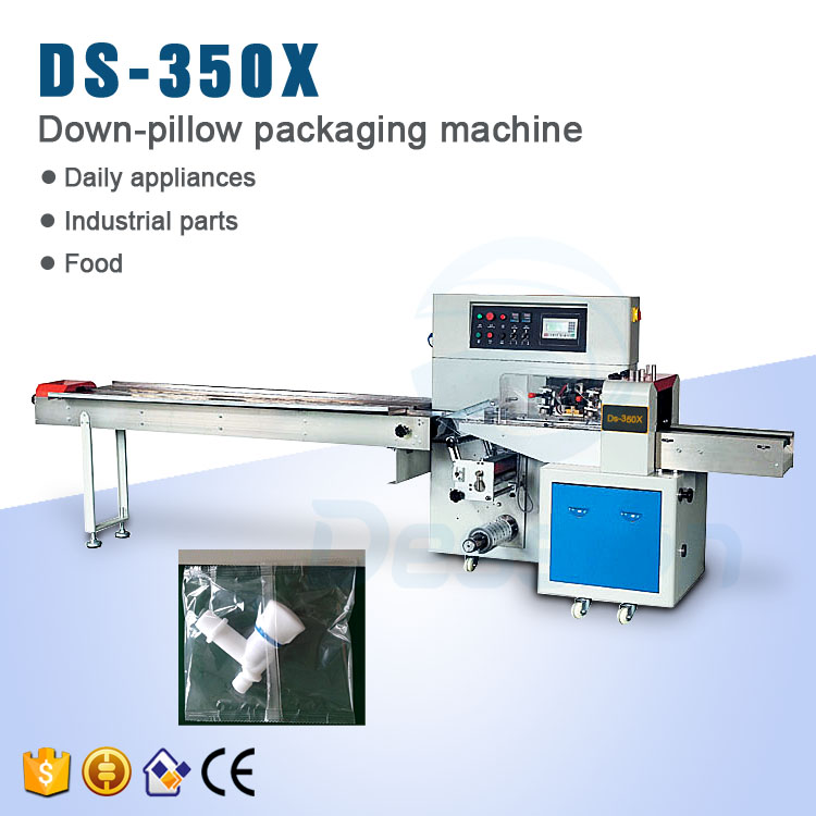 Plastic Material Rotary Plastic Tap Bag Wrapping Machine