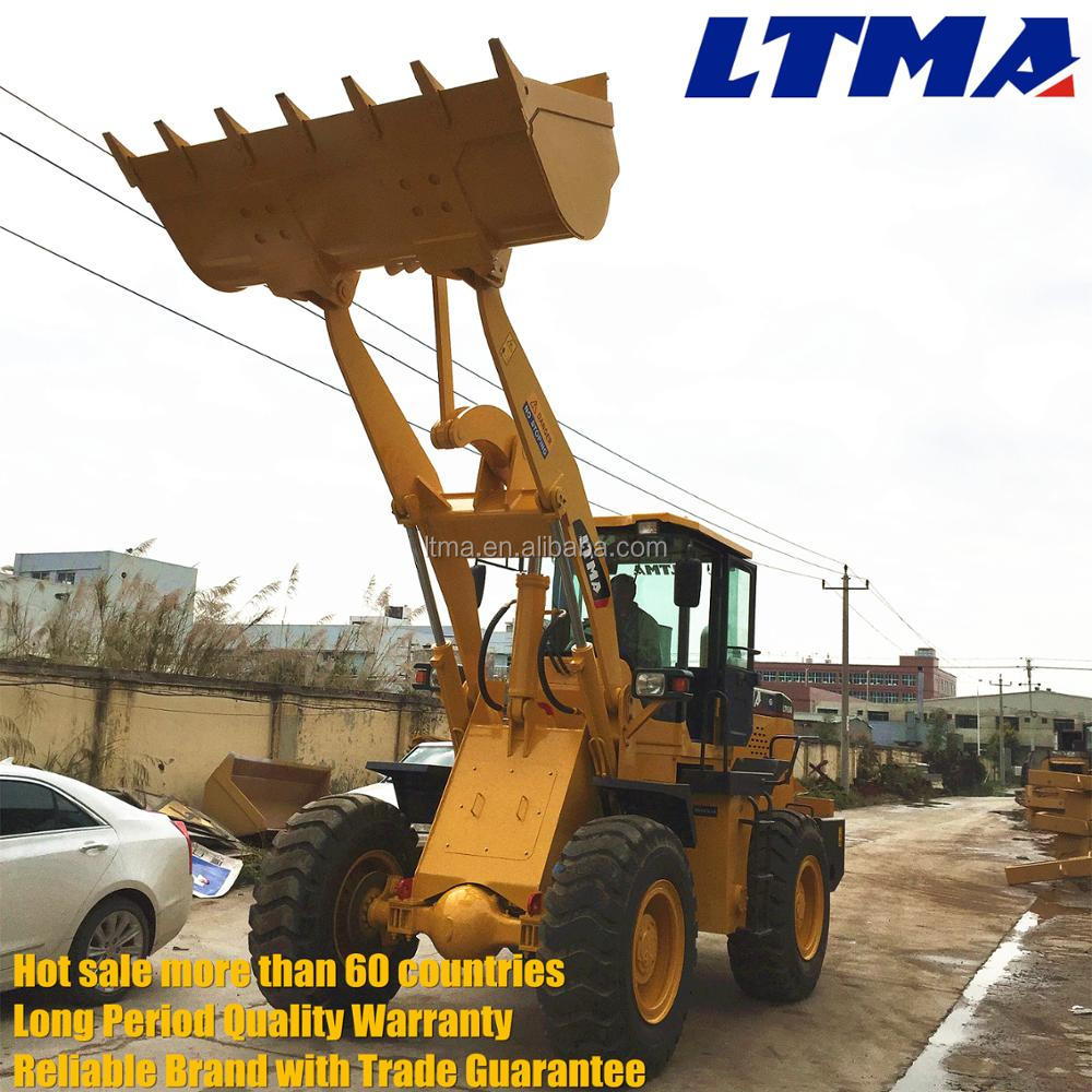 New style zl30 3 tonne wheel loader