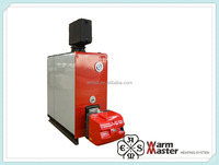 Combi gas boiler for hotel heating and domestic hot water
