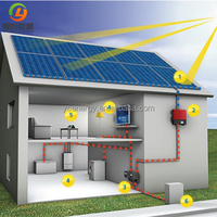 China best supplier 5kw solar off grid system solar home power system for home use