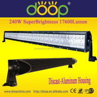 Wholesale hot item 9-32V straight double row 240W led light bar off road working light with CE ROSH IP67