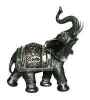 Polyresin figurines of elephant for home decoration