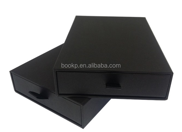 Factory Customized Logo Printing Sliding Out Drawer Packaging Box With Sliding Drawer