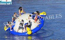 Hot sale new product Inflatable water totter saturn games equipment