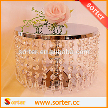 Hot Sale Crystal Cake and Cupcake Stand For Display