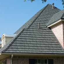 Endurable stone coated metal roofing,european design roofing stone tile,roofing shingle