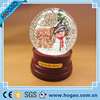 Resin Christmas Snowman Snow Globe Water