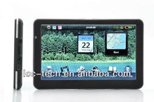 7 inch car gps navigation bluetooth AV SpeedCam free map