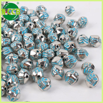 China supplier nigeria wholesale irregular acrylic beads and crystals