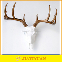 High quality wall hanging polyresin deer antler
