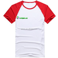 wholesale high-quality blank scoop neck t shirt for sublimated printing