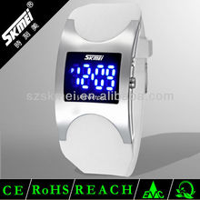 Best quality thin digital LED flashing drive watch,paidu watch