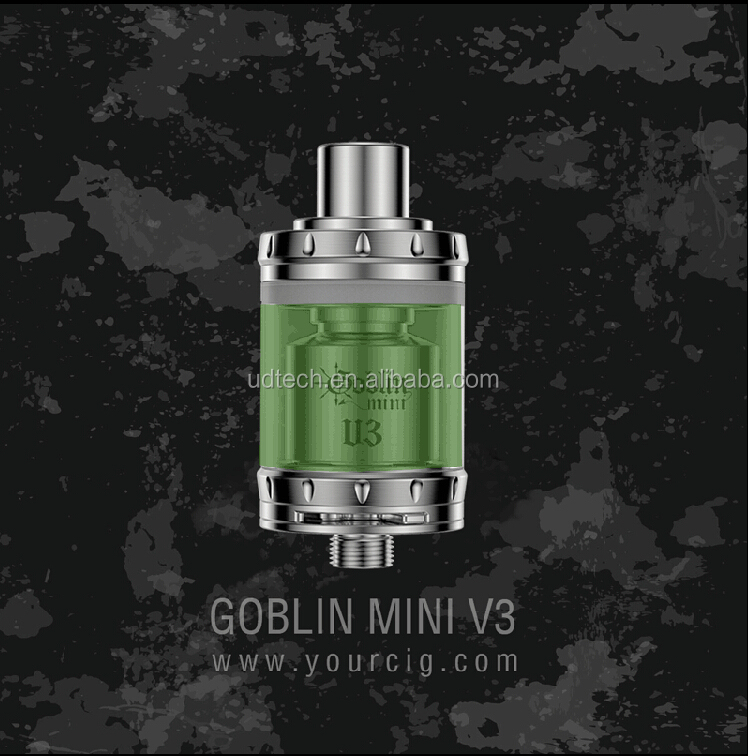 Hot sale product UD smallest RTA Atomizer Goblin Mini Best 510 e-cig atomizer