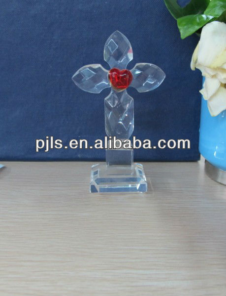 CRYSTAL CROSS for home decoration for Christian