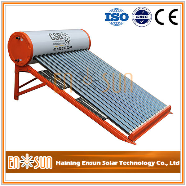 China supplies evacuated tube heat pipe latest design vacuum tube heaters solar water