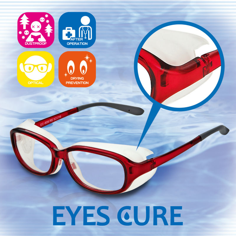 Safe and Easy to use nursing products EYES CURE with eye protection