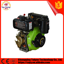 Single Cylinder Air-cooled 4 Stroke 5Hp Diesel engine 170F
