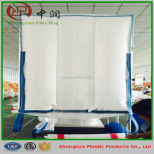 Polypropylene animal feed bags ------FIBC jumbo bags 1 mt top filling spout with PE liiner , Moistureproof bags