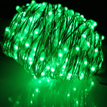 Colorful birthday party decorative micro LED red and green home string lighting fairy led light
