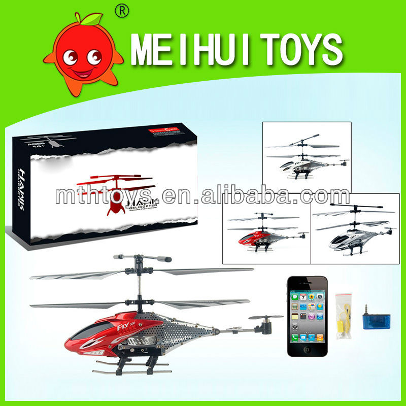 Alloy 3CH RC helicopter controled by iPhone &Android,Android helicopter