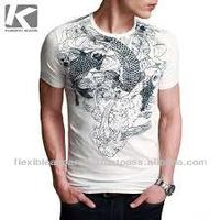 All over print t-shirts 100% cotton