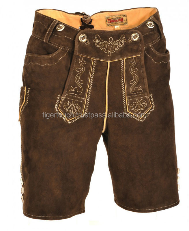 Trachten Lederhose Traditional Bavarian men's clothing kniebund