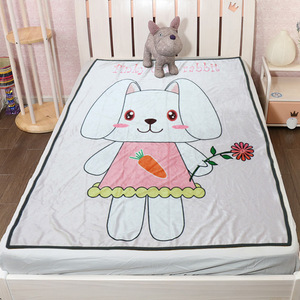 Wholesale Customized High Quality Standard Soft Comfortable Fleece Blanket