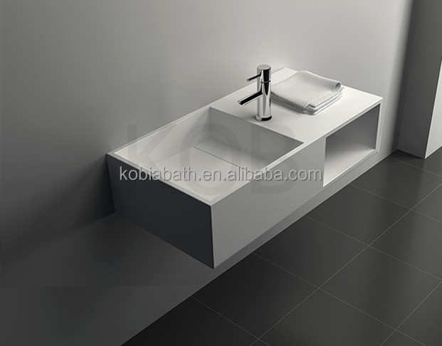 Art bathroom sink, topmount sink, sanitaryware above counter wash basin