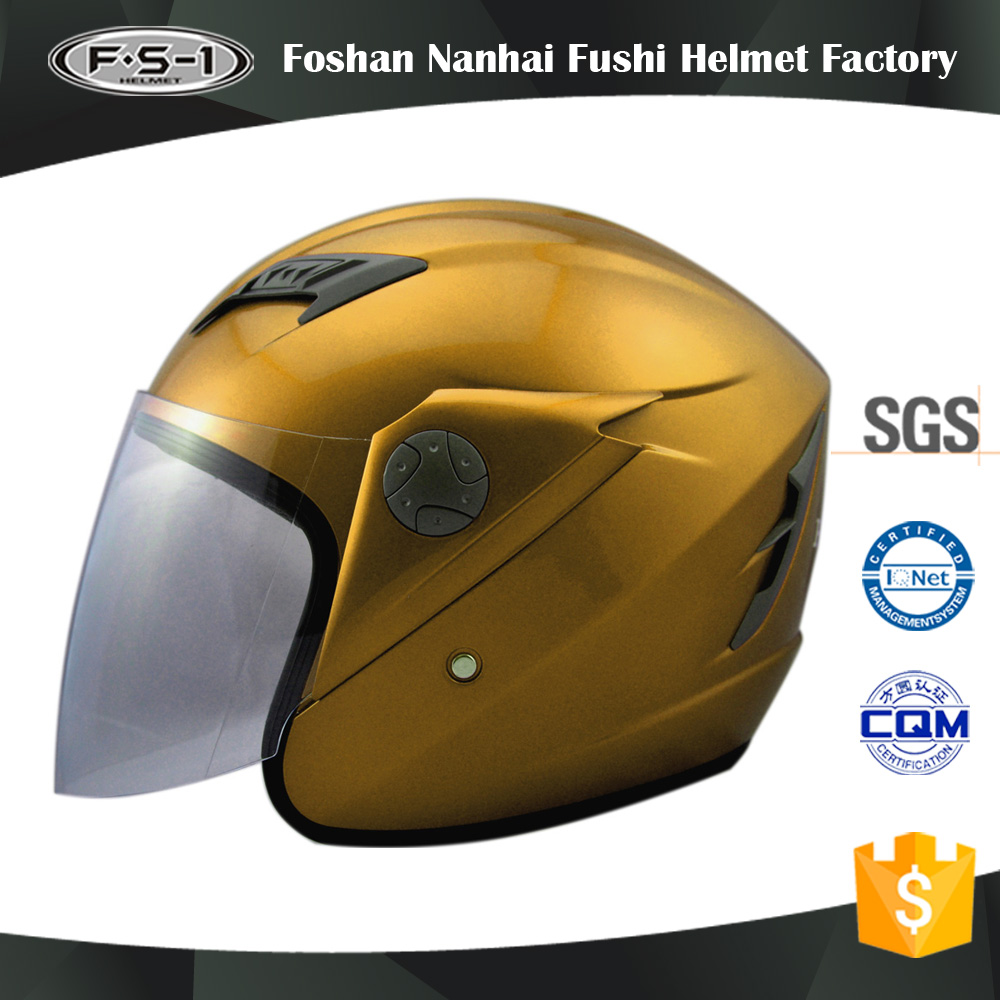 Customized modular helmet / studds helmet / jet helmet with pc visor