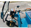 Open Body Type and 60V Voltage electric tricycle for passenger 1000w