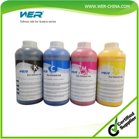 WER-CHINA brand eco solvent ink for Roland eco-sol max ink