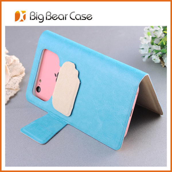 universal protective case leather flip case for lenovo a3000