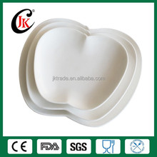 Wholesale apple shaped ceramic dinner plate set
