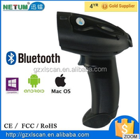 Popular Model: NT-2015LY Bluetooth Wireless Barcode Scanner Cheap 32bit with RS232 / USB/ PS2