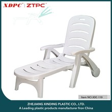 Chinese Manufacturer Plastic Tube Folding Beach Chair