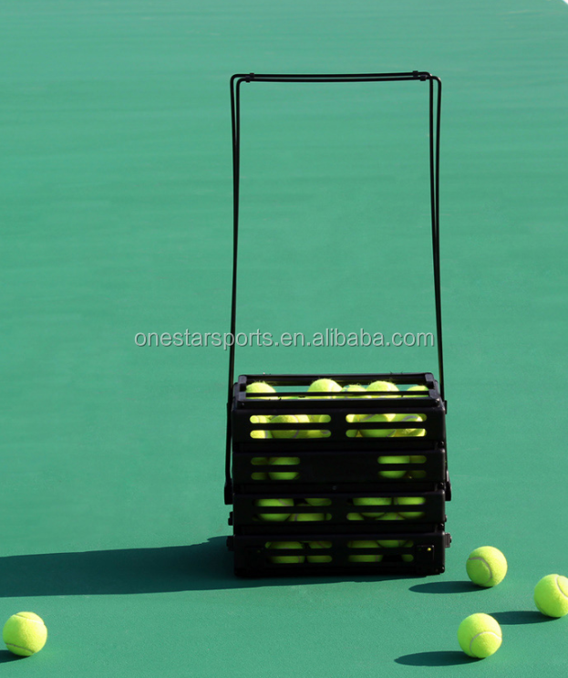 42pcs tennis ball hopper ball basket