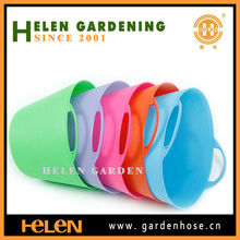flexible garden storage bucket,PE laundry basket,PE trough for cat bathing