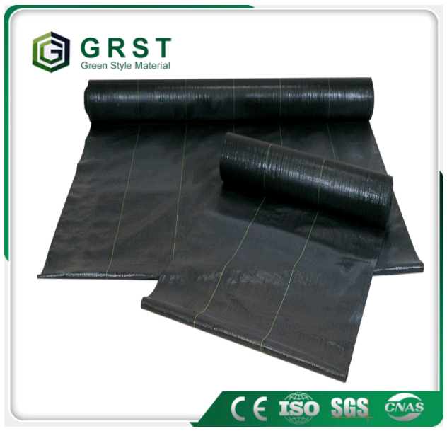 black Plastic mulch films/anti barrier /pp weed mat
