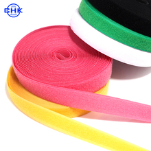 Customized Size Factory Price Soft Nylon Colorful Hook and Loop