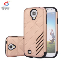 2017 High quality phone case for galaxy s4 hybrid tpu double phone case for samsung galaxy s4