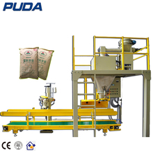 semi automatic 10kg 25kg 50kg open mouth bag powder packing machine