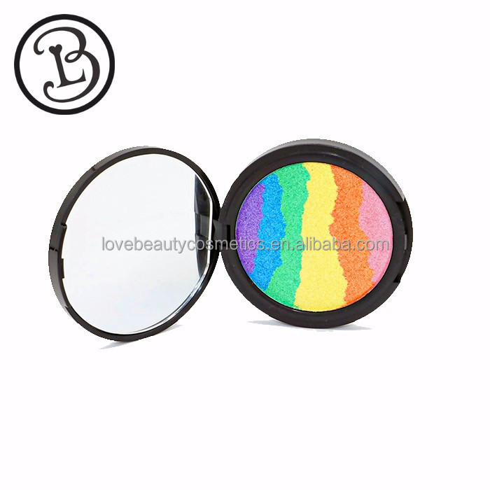 Private label highlighter pressed powder multi colors highlighter shimmer highlighter