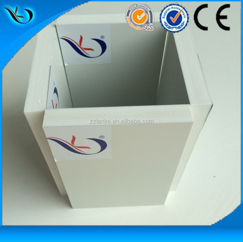 China Recyclable PVC Plastic Construction Formwork For Sale