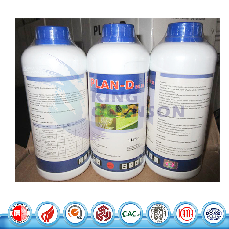 FAO High Quality Deltamethrin 25 g/L EC 98% TC Insecticide Manufacturer