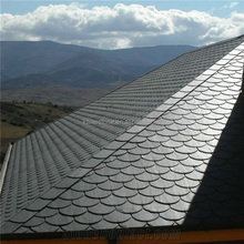 Slate Roofing Tile, Natural Slate, plain grey Roof Slate for Decorative Project